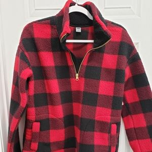NWT small old navy sherpa pullover